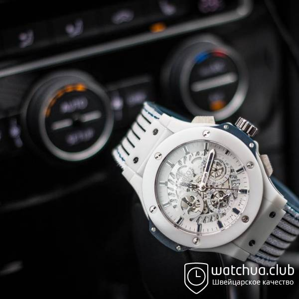 Hublot Aerobang White Ceramic Big Bang вид 1