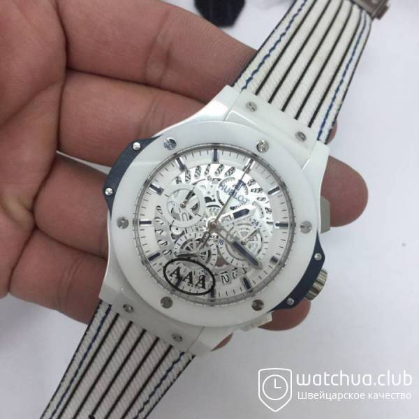 Hublot Aerobang White Ceramic Big Bang вид 2