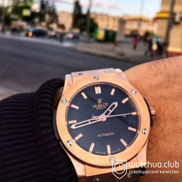 Hublot Classic Fusion King Gold вид 1