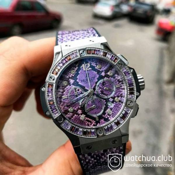Hublot Boa Bang Purple Gold вид 1