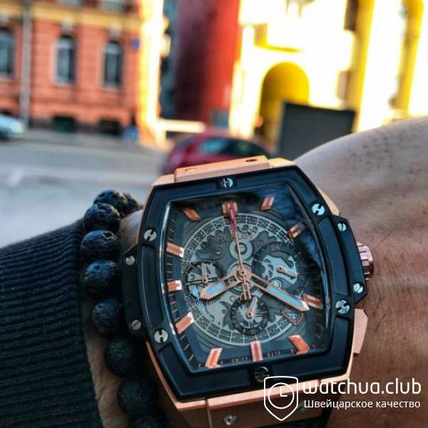 Hublot Spirit of Big Bang King Gold вид 1