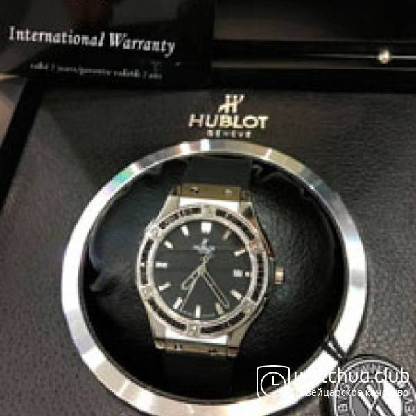 Hublot Lady Steel Black Big Bang вид 2