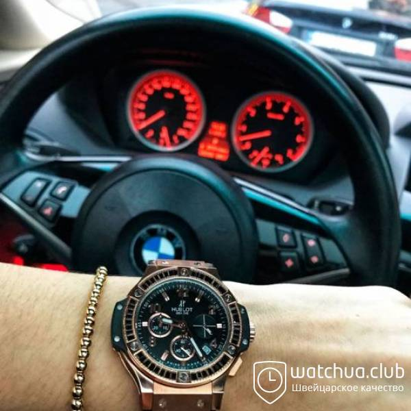 Hublot Tutti Frutti golden black вид 1