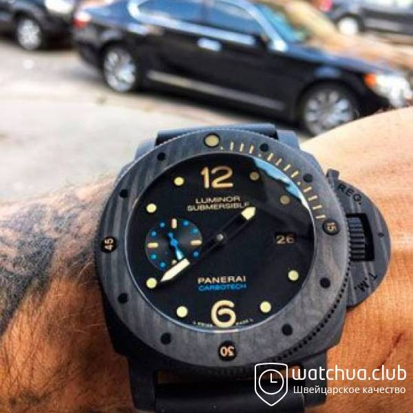 Panerai PAM00616 Luminor Submersible 1950 Carbotech 3 Days Automatic вид 1