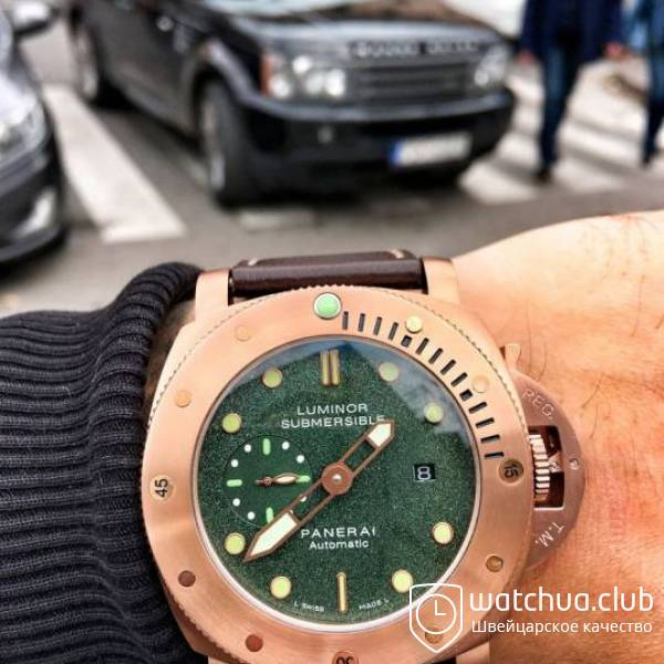Panerai Submersible Bronze вид 1