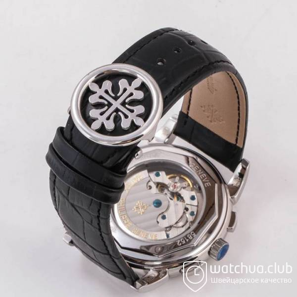 Patek Philippe Grand Complications Silver Black Classic Markers вид 2