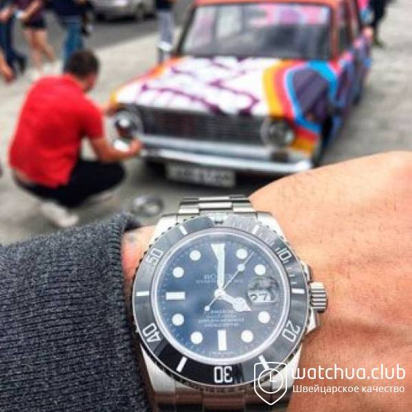 Rolex Submariner Steel Black Ceramic Bezel вид 1