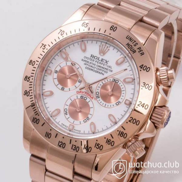 Rolex Cosmograph Daytona 116505 White Dial Everose Golden Case вид 2
