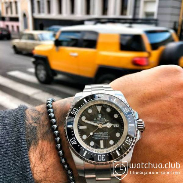 Rolex Deepsea Steel Black Gradient вид 1