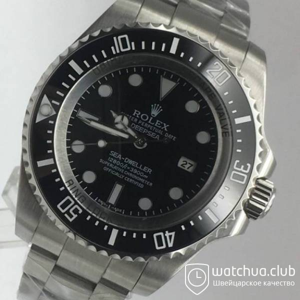 Rolex Deepsea Steel Black Gradient вид 2