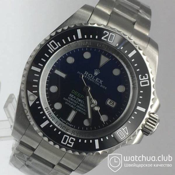 Rolex Deepsea Steel Blue Gradient вид 2