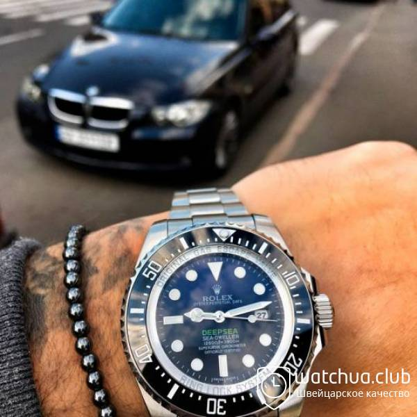 Rolex Deepsea Steel Blue Gradient вид 1