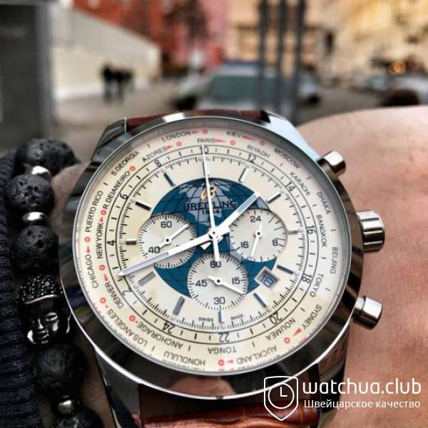Breitling Transocean Chronograph Unitime вид 1