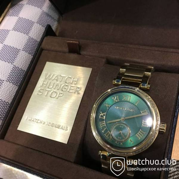 Michael Kors Skylar MK6065 Golden Green вид 1