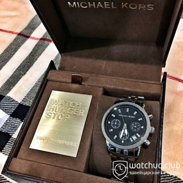 Michael Kors Ritz MK5002 Steel Black chrono вид 1