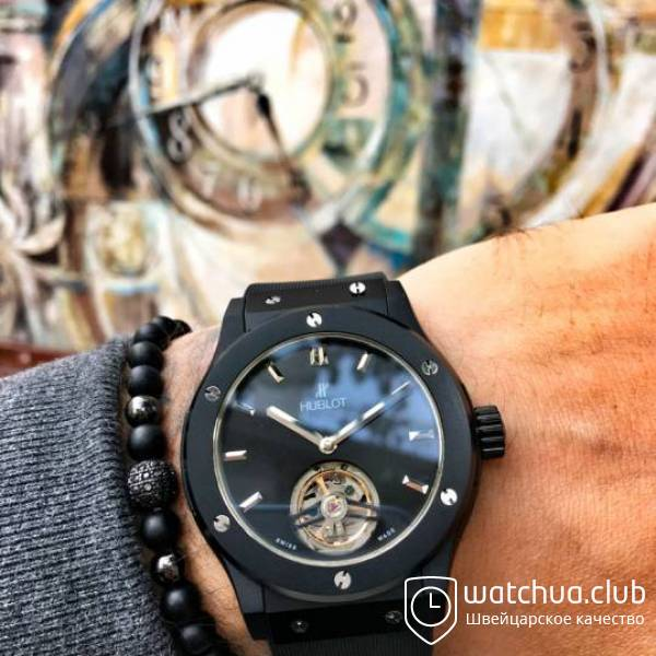 Hublot Classic Fusion Tourbillon Night Out вид 1