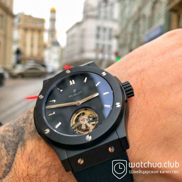 Hublot Classic Fusion Tourbillon Night Out вид 2