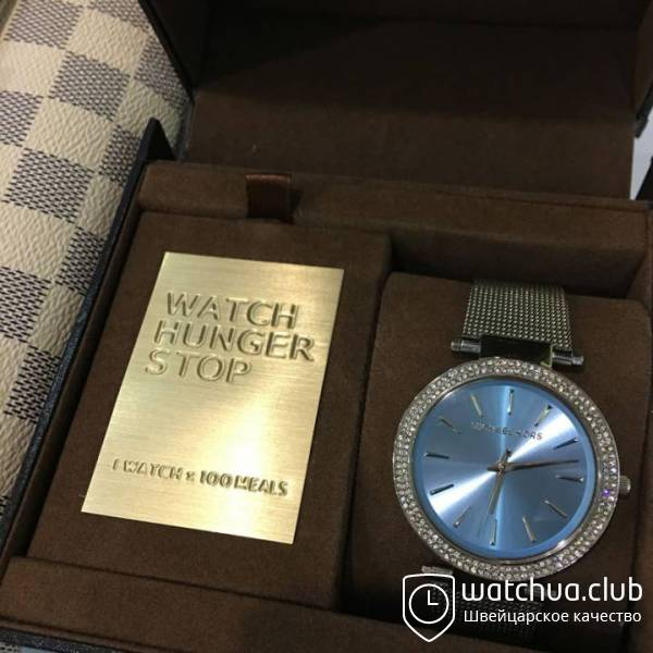 Michael Kors Darci Blue Dial Steel Bracelet Watch вид 1