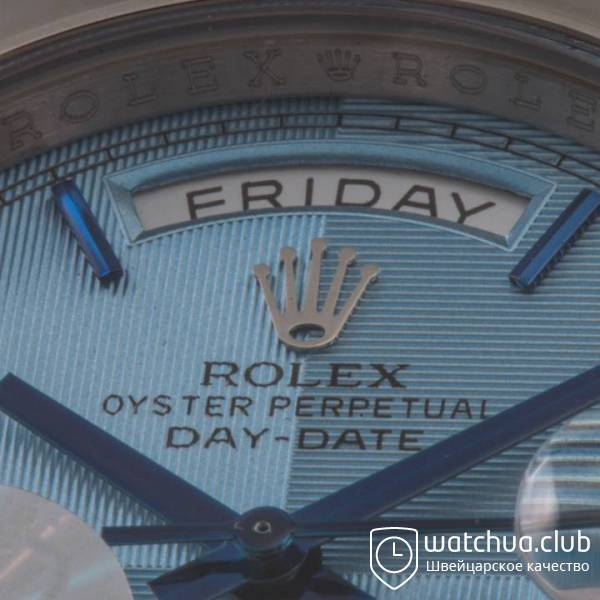 Rolex Day-date 2 Steel Case Roman numerals Ivory Dial 218239 – 83219 вид 3