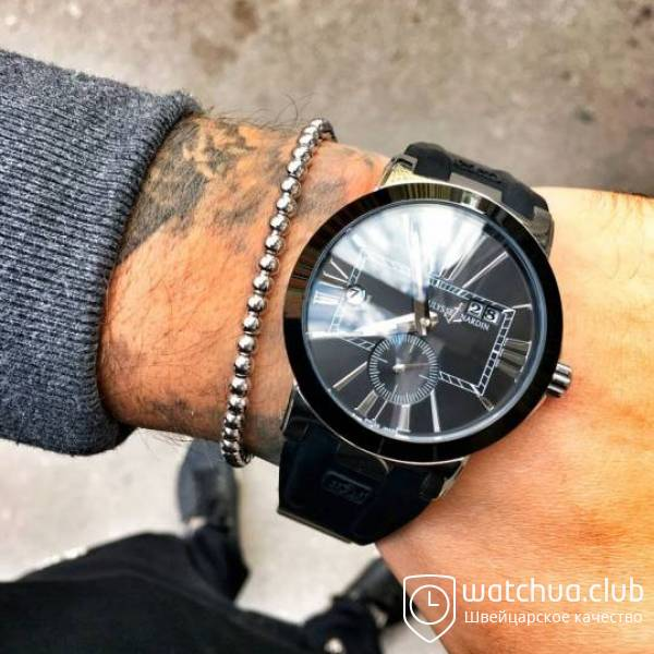 Ulysse Nardin Dual Time Golden Black вид 1