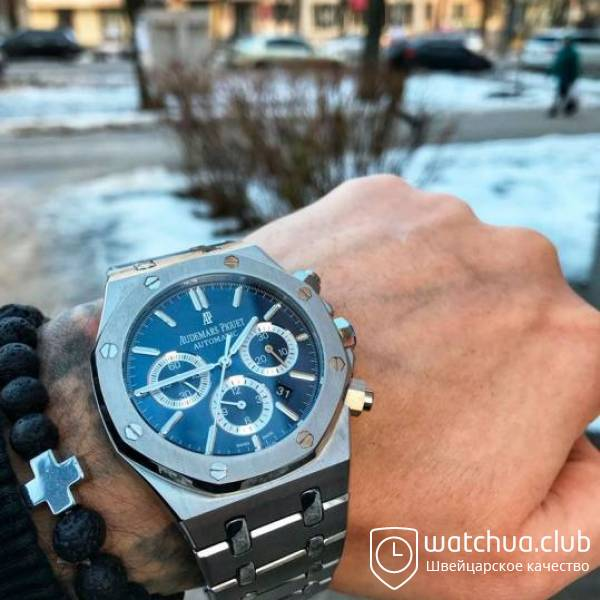 Audemars Piguet Royal Oak Blue Dial Automatic вид 1