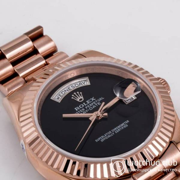 Rolex Day-date Gold Black Onyx Dial вид 4