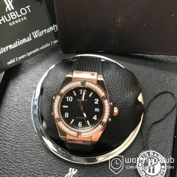 Hublot Big Bang One-Click Golden Black All вид 1