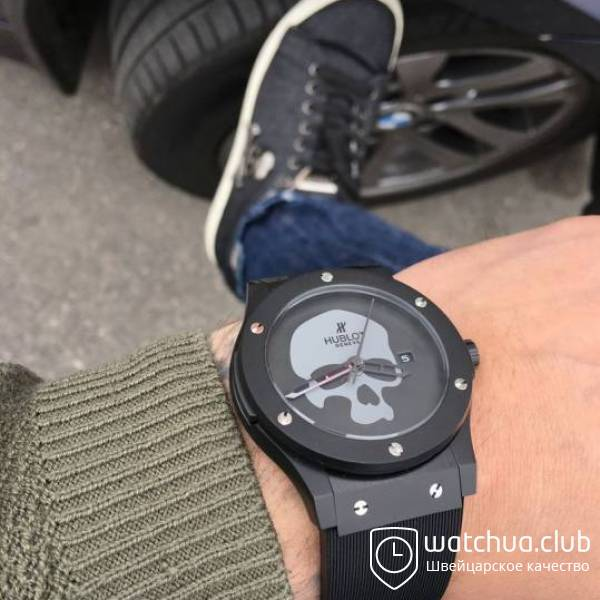 Hublot Skull Bang All Black вид 1
