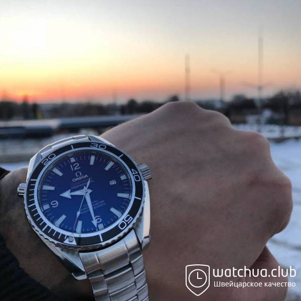 Omega Seamaster Planet Ocean Co-Axial Smooth Dial вид 1