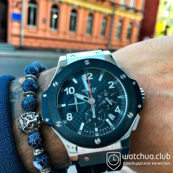Hublot Big Bang Titanium Black Bezel вид 1