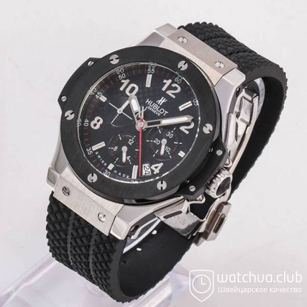 Hublot Big Bang Titanium Black Bezel вид 2