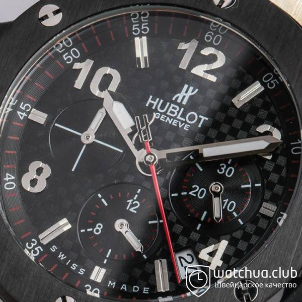 Hublot Big Bang Titanium Black Bezel вид 8