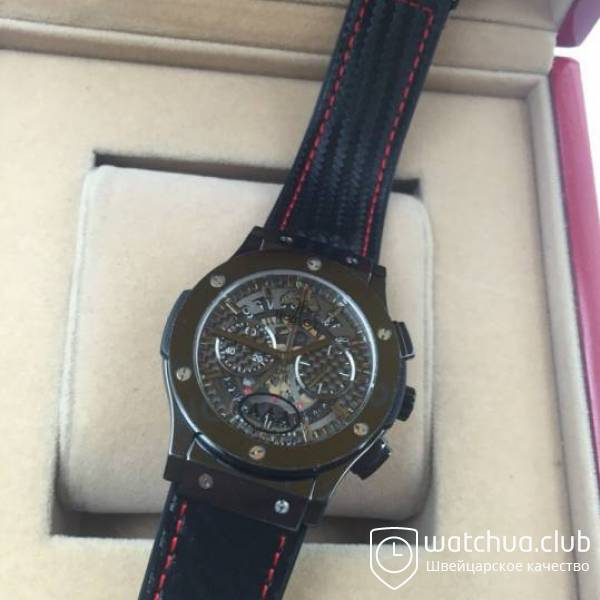 Hublot Best Buddies Aerocarbon Steel Black вид 4