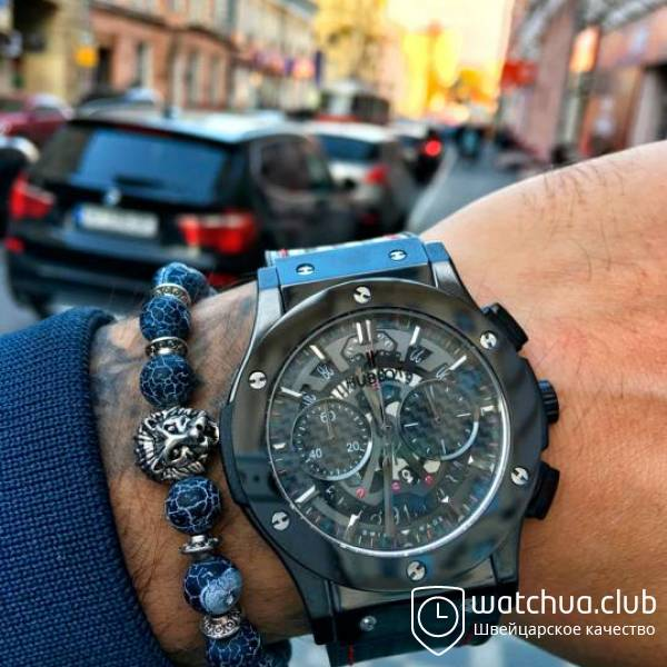 Hublot Best Buddies Aerocarbon Steel Black вид 1
