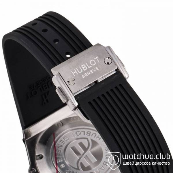 Hublot Big Bang One-Click Steel Black Diamond Bezel вид 3