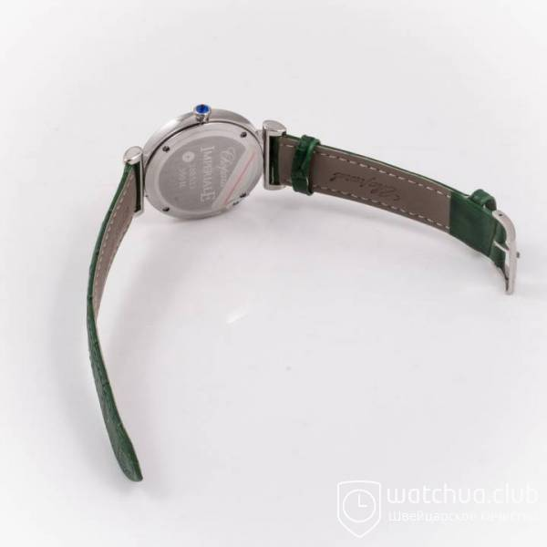 Chopard Imperiale Jade Steel Green Strap вид 3