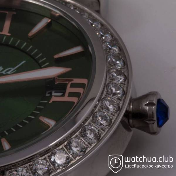 Chopard Imperiale Jade Steel Green Strap вид 6