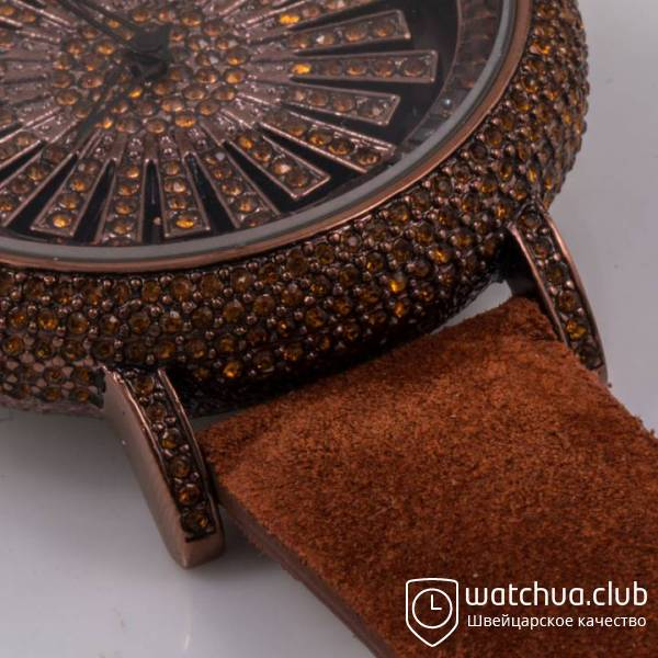 Chopard s5268 All Brown Suede Strap вид 2