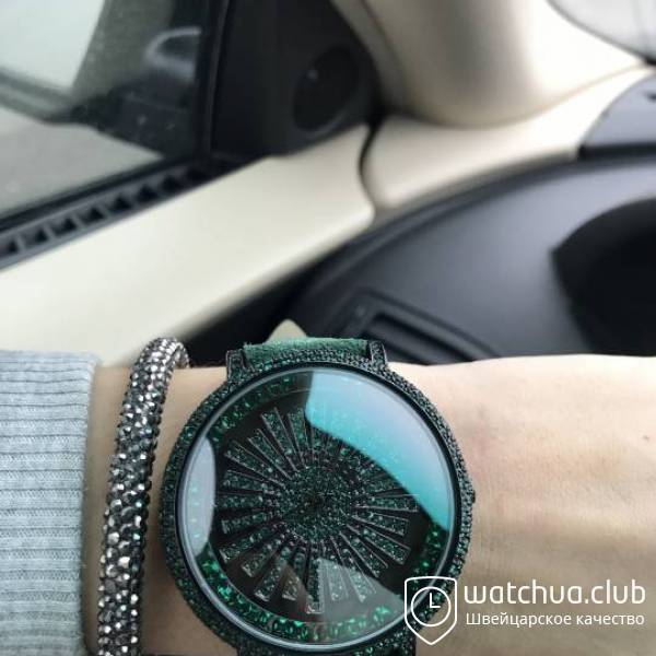 Chopard s5268 All Green Suede Strap вид 1