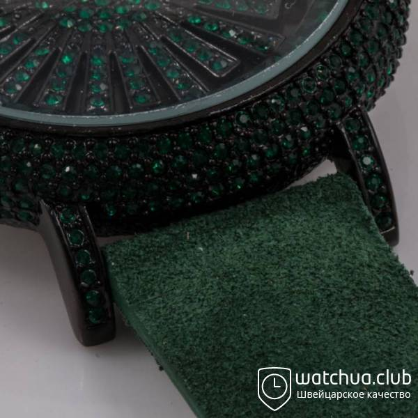 Chopard s5268 All Green Suede Strap вид 2