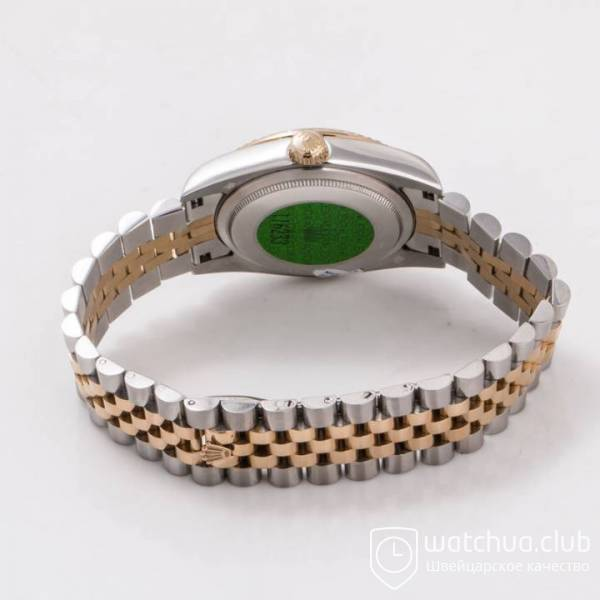 Rolex DateJust Two-tone bracelet Gold Diamond Dial Golden Bezel вид 4