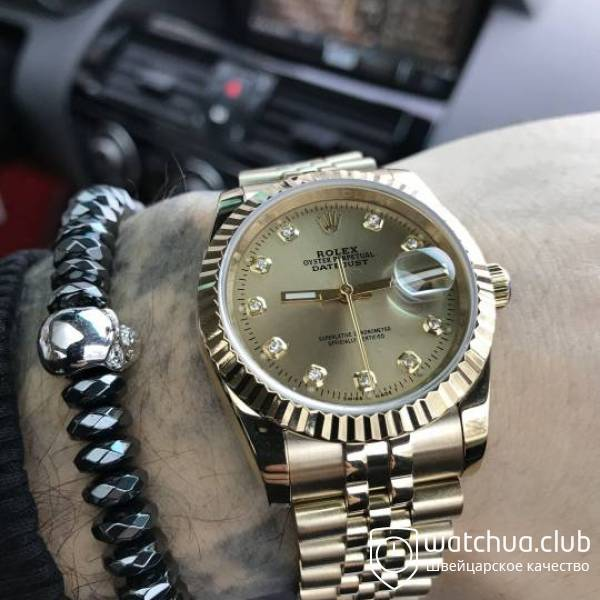 Rolex Datejust  Gold вид 1