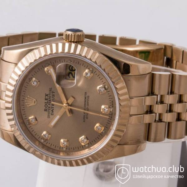 Rolex Datejust  Gold вид 2