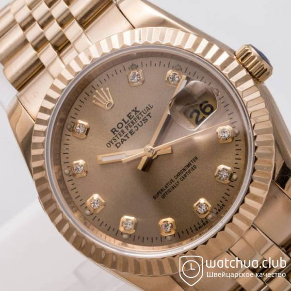 Rolex Datejust  Gold вид 3
