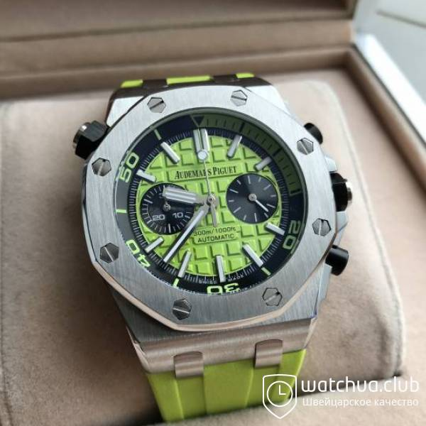 Audemars Piguet Royal Oak Offshore Green Diver Chronograph вид 1