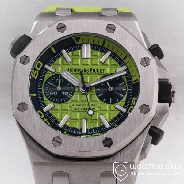 Audemars Piguet Royal Oak Offshore Green Diver Chronograph вид 2