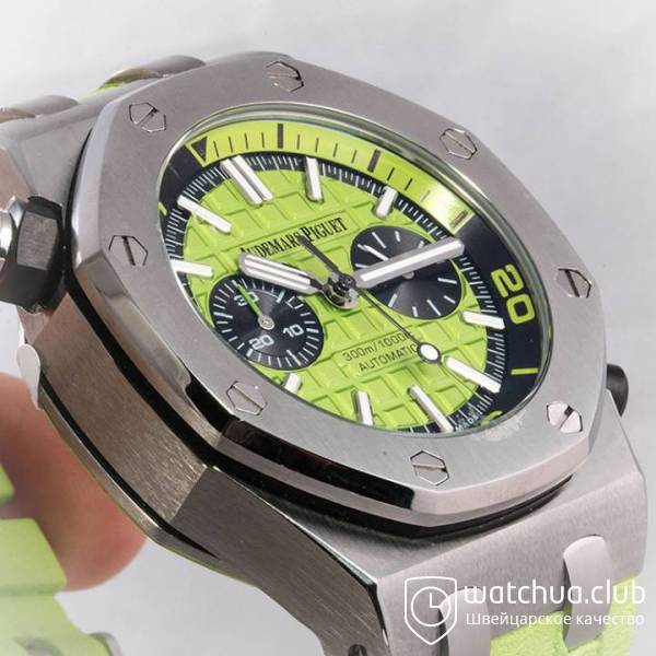 Audemars Piguet Royal Oak Offshore Green Diver Chronograph вид 7
