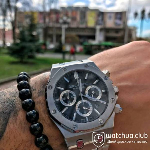 Audemars Piguet Royal Oak Black Dial Automatic вид 1