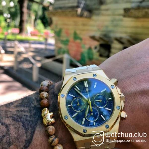 Audemars Piguet Royal Oak Offshore Black Dial Golden вид 1