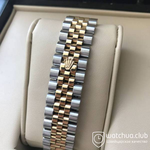 Rolex Datejust Green Pearl Dial Two-tone bracele вид 2